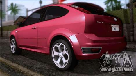 Ford Focus ST Tunable for GTA San Andreas left view