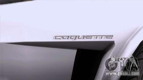 GTA 5 Invetero Coquette Classic HT SA Mobile for GTA San Andreas right view