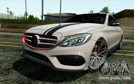 Mercedes-Benz C250 AMG Brabus Biturbo Edition for GTA San Andreas