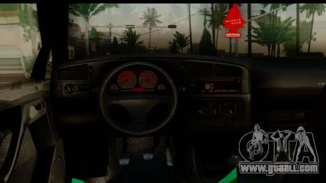 Volkswagen Golf Mk3 for GTA San Andreas back view
