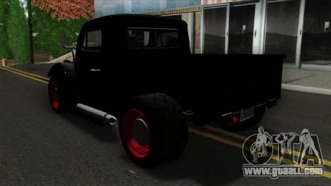 GTA 5 Bravado Rat-Truck SA Mobile for GTA San Andreas left view