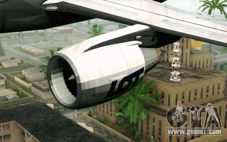 Embraer EMB-175 LOT Polish Airlines for GTA San Andreas right view