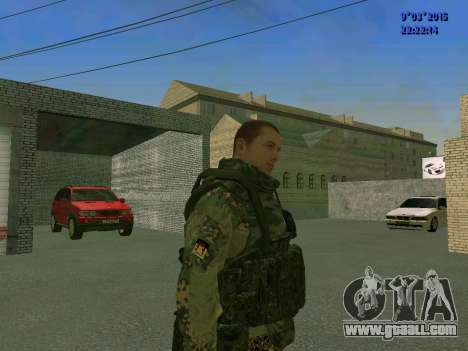 A fighter from Sparta battalion for GTA San Andreas second screenshot