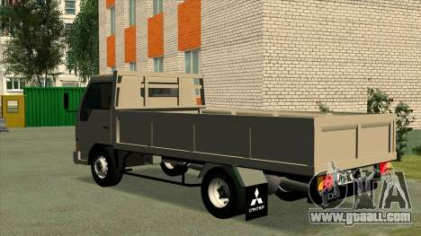 Mitsubishi Fuso Canter 1989 Flat Body for GTA San Andreas left view