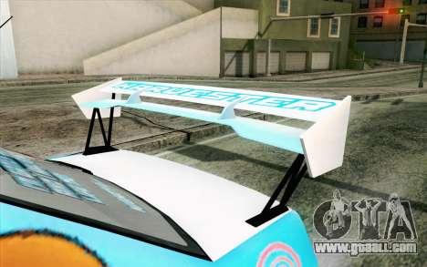 Mitsubishi Lancer Evolution IX for GTA San Andreas right view
