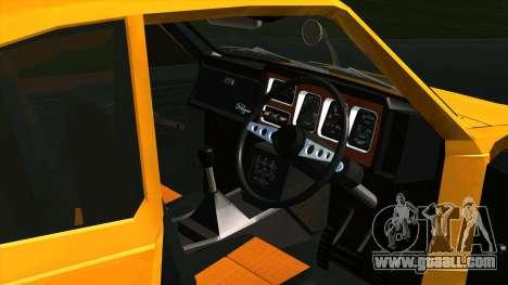 Mitsubishi Minica Skipper for GTA San Andreas back view
