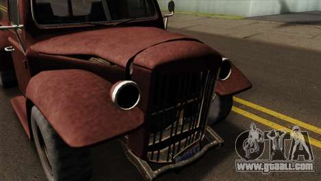 GTA 5 Bravado Rat-Loader IVF for GTA San Andreas right view