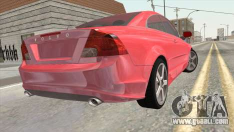 Volvo C70 2011 Stock for GTA San Andreas left view