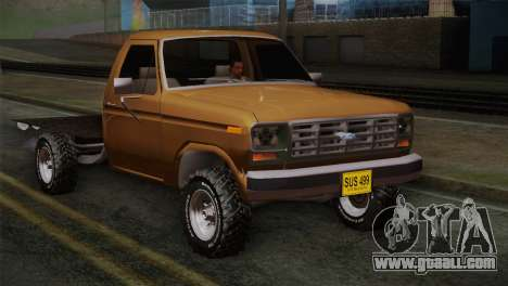 Ford F-150 1984 for GTA San Andreas