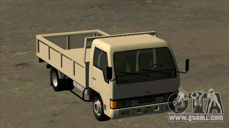 Mitsubishi Fuso Canter 1989 Flat Body for GTA San Andreas back view