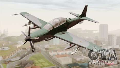 Embraer A-29B Super Tucano FAB for GTA San Andreas