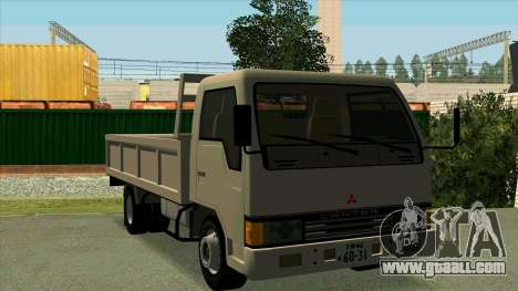 Mitsubishi Fuso Canter 1989 Flat Body for GTA San Andreas inner view