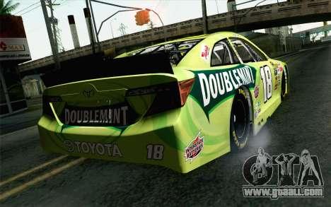 NASCAR Toyota Camry 2013 v4 for GTA San Andreas left view