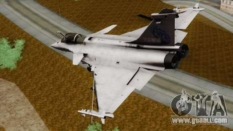 Dassault Rafale M Pisces for GTA San Andreas left view