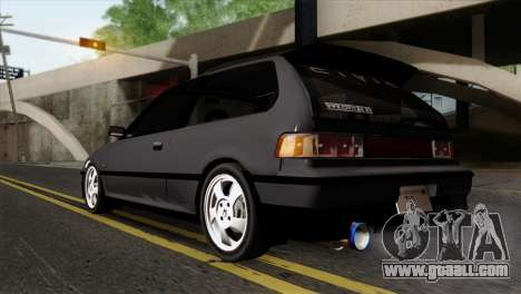 Honda Civic EF Hatchback for GTA San Andreas left view