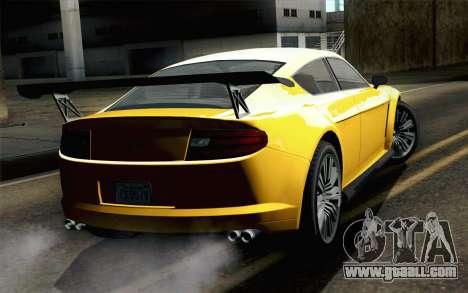 GTA 5 Dewbauchee Exemplar for GTA San Andreas left view