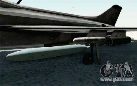 MIG-21 Fishbed C Vietnam Air Force for GTA San Andreas right view