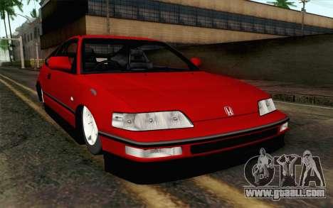 Honda CRX for GTA San Andreas