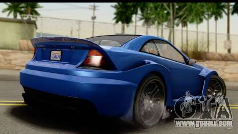 GTA 5 Benefactor Feltzer IVF for GTA San Andreas left view