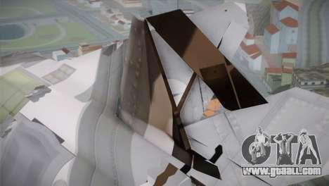 F-15 JASDF 50th Anniversary for GTA San Andreas right view