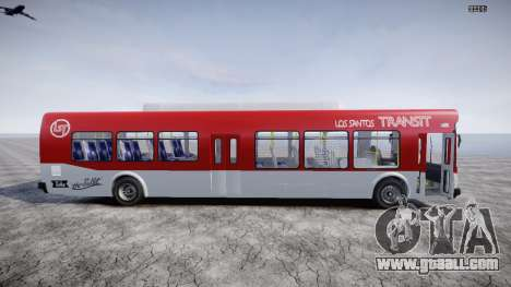 GTA 5 Bus v2 for GTA 4 left view