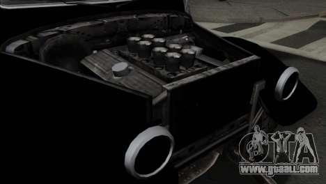 GTA 5 Bravado Rat-Truck SA Mobile for GTA San Andreas back view