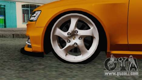 Audi S4 Avant 2013 for GTA San Andreas back left view