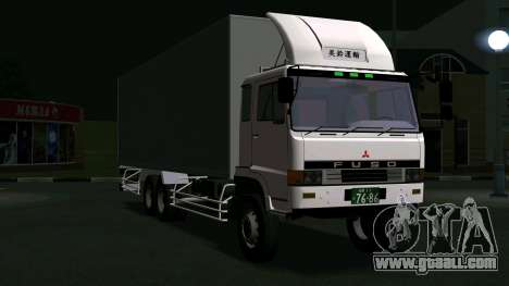 Mitsubishi Fuso The Great Box for GTA San Andreas left view