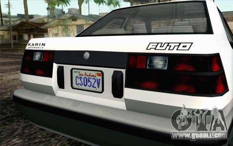 GTA 5 Karin Futo IVF for GTA San Andreas right view