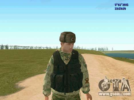 Warrior battalion Ghost for GTA San Andreas third screenshot