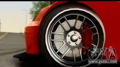 GTA 5 Benefactor Feltzer SA Mobile for GTA San Andreas back view