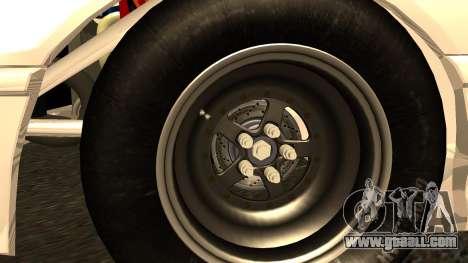 Honda CRX Dragster for GTA San Andreas back left view