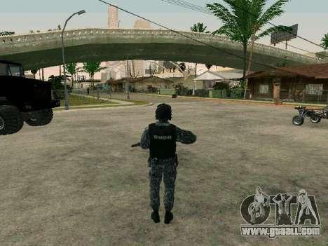 The policeman for GTA San Andreas third screenshot