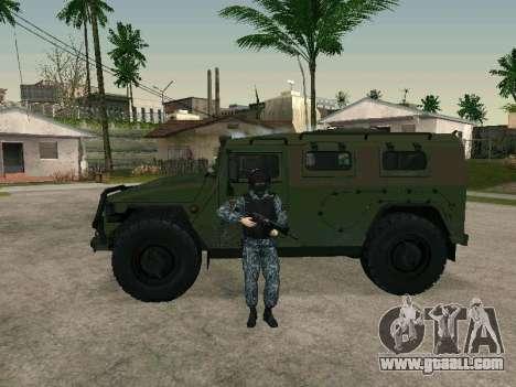 The policeman for GTA San Andreas forth screenshot
