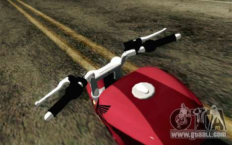 Honda Twister 250 v2 for GTA San Andreas right view