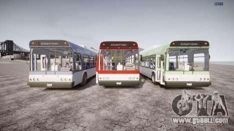 GTA 5 Bus v2 for GTA 4 upper view