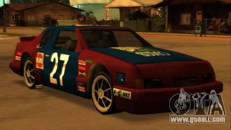 Beta Hotring Racer for GTA San Andreas right view