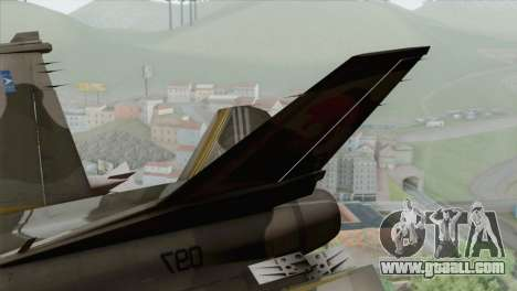 F-16 Scarface Squadron for GTA San Andreas back left view