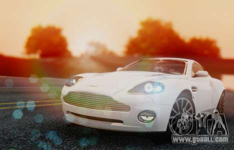Aston Martin V12 Vanquish 2001 v1.01 for GTA San Andreas left view