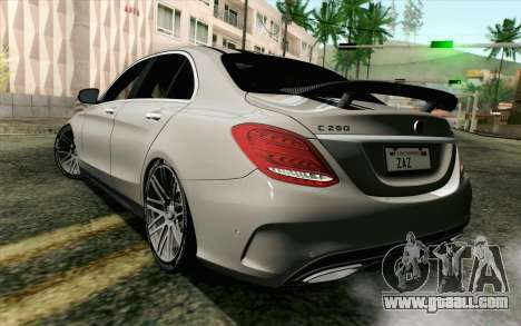 Mercedes-Benz C250 AMG Brabus Biturbo Edition for GTA San Andreas left view