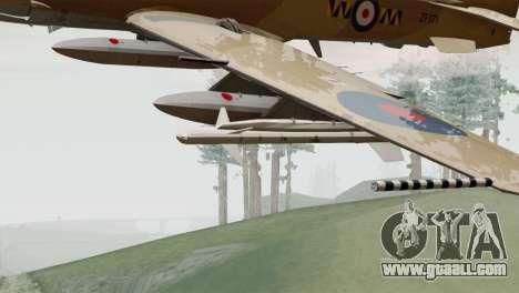 Embraer A-29B Super Tucano RAF Desert for GTA San Andreas