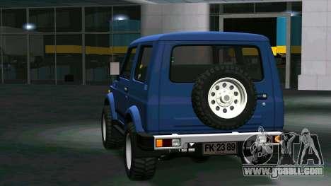 Suzuki Samurai for GTA San Andreas right view