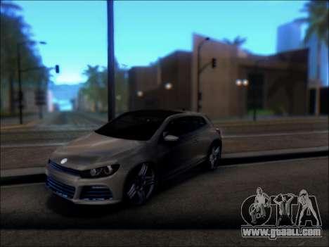 Volkswagen Scirocco Tunable for GTA San Andreas right view