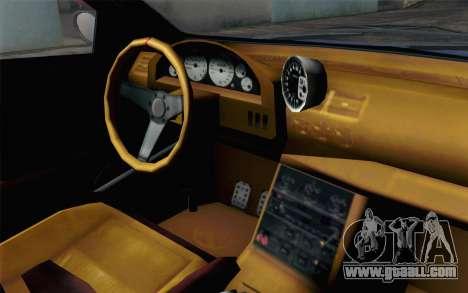 GTA 5 Ubermacht Sentinel XS SA Mobile for GTA San Andreas back view