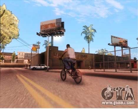 ENB Gentile v2.0 for GTA San Andreas third screenshot