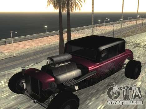 Hotknife Updated for GTA San Andreas left view