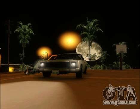 ENB Gentile v2.0 for GTA San Andreas forth screenshot