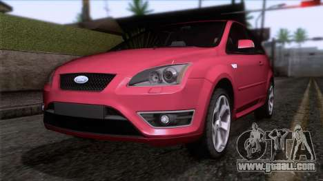 Ford Focus ST Tunable for GTA San Andreas