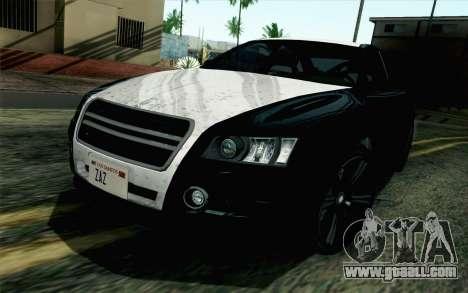 GTA 5 Karin Kuruma v2 SA Mobile for GTA San Andreas