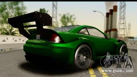 GTA 5 Benefactor Feltzer SA Mobile for GTA San Andreas left view